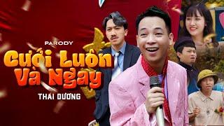 Phim ca nhạc hài | CƯỚI LUÔN VÀ NGAY | Thái Dương, Long Hách | Parody Nhạc Chế Hay Nhất