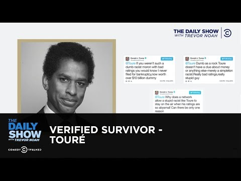 Verified Survivor - Touré: The Daily Show