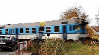 preview picture of video 'Železniční přejezd: Bučovice 2(spoorwegovergangen in Tsjechië)'