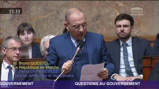 Retrouvez ma question orale à Christophe CASTANER, lors de la dernière séance de Questions au Gouver