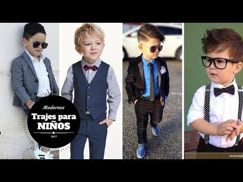 TRAJES PARA NIÑOS MODERNOS/MODA DESIGN