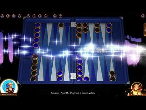 Video of Hardwood Backgammon