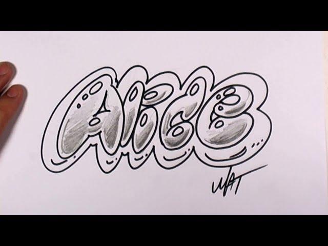 Graffiti Writing Alice Name Design