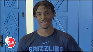 Ja Morant 'locked in' on making the playoffs with the Grizzlies in Orlando | NBA on ESPN