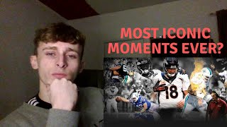 Clueless British Guy reacts to American Football - Most Memorable Moments in NFL HISTORY Part 1