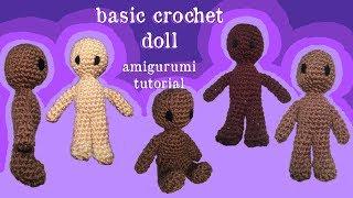 Basic Crochet Doll Tutorial | Part 1 | Doll Body Types