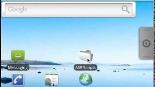 SL4A Video Help: Adding a Live Folder