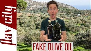You're Buying Fake Olive Oil...Here's How To Avoid It!