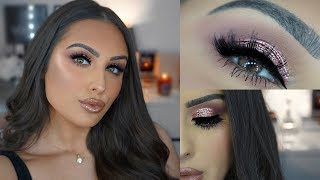 PINK/MAUVE MAKEUP TUTORIAL 2019