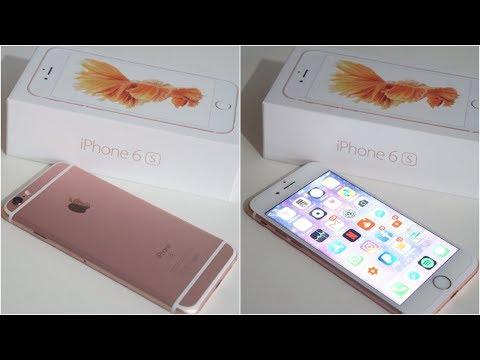 MEU NOVO CELULAR - IPHONE 6S ROSE GOLD | Ailana Nascimento