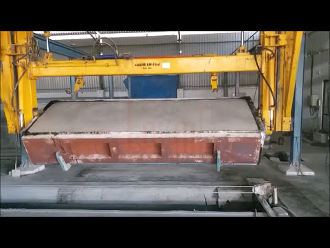 Autoclave Aerated Concrete Block Machine
