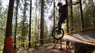 preview picture of video 'The trails are calling - Conti Bikepark Bad Wildbad 2014'