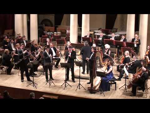 Paul Hindemith. Concerto for Woodwinds, Harp and Orchestra.