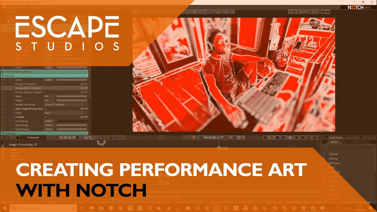 Creating Performance Art with Notch