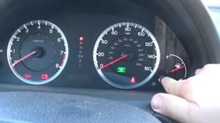 Как Обнулить сервис после замены масла на Honda (How To Reset the Maintenance Light HONDA)