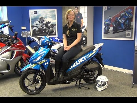 Suzuki Address 110 Scooter Video Review | Low Rate Finance Available