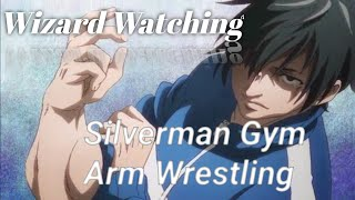 Machio Naruzo  - (How Heavy Are the Dumbbells You Lift?) - All Arm Wrestling Scenes || Dumbbell Nan Kilo Moteru? || Funny Anime Moments | Wizard Watching