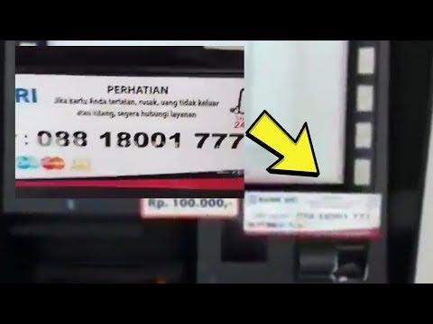 Viral Video Stiker Nomor Call Center Abal-abal Tertempel di Mesin ATM, Pihak BRI Beri Penjelasan