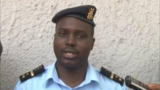 La police Nationale du Burundi remet au CNC le journaliste Antéditeste NIRAGIRA