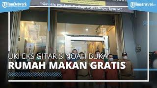 Uki Eks Gitaris NOAH Buka Rumah Makan Gratis di Jatinangor, Warga Silakan Datang