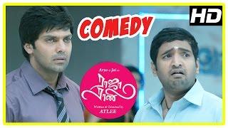Raja Rani Tamil Movie Comedy Scenes   Part 1   Arya   Santhanam   Nayanthara   Nazriya   Jai   Atlee