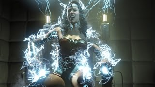 【Ryona】All Super Moves on Wonder Woman【Injustice 2】