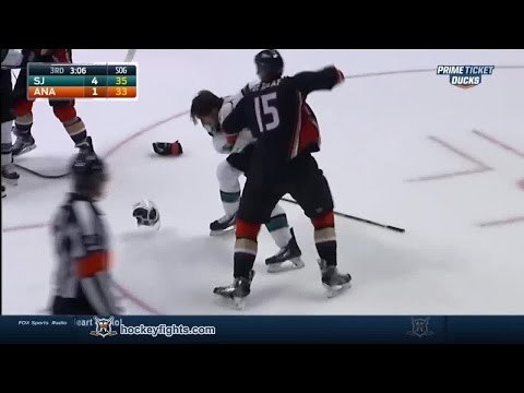 Ryan Getzlaf vs. James Sheppard