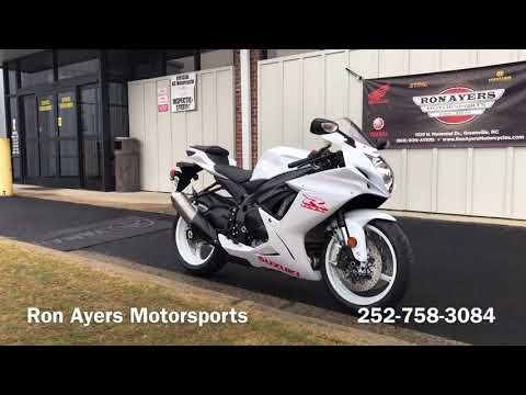 2020 Suzuki GSX-R600 in Greenville, North Carolina - Video 1