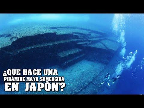 ¿Qué hace una pirámide maya sumergida en los mares de Japón?