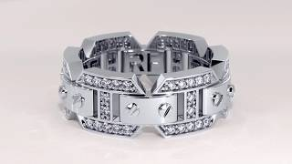 Unique Men's Wedding Bands By Rockford Collection