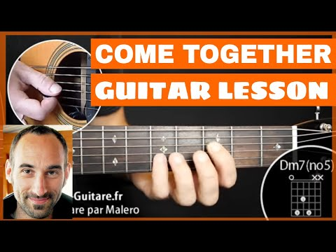 Come Together Guitar Lesson - Part 1 Of 3 Mp3