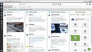 Hootsuite - Twitter-Streams erstellen
