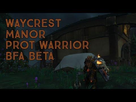BFA Beta - Prot Warrior - Waycrest Manor - смотреть онлайн