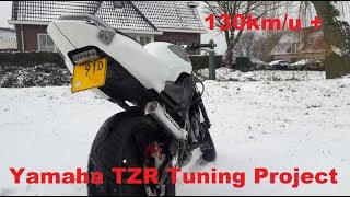 Yamaha TZR 70cc Project   Tuning Story   Hebo Manston Racing