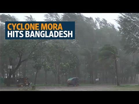 Cyclone Mora brings destruction to Myanmar refugee camps in Bangladesh