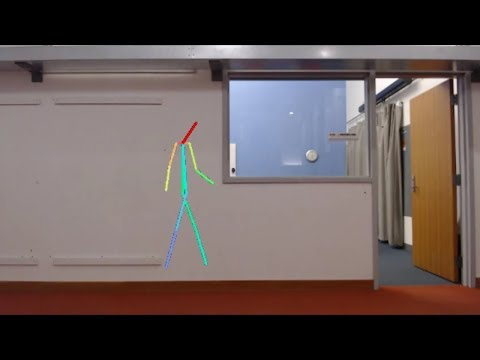 Artificial intelligence senses people through walls