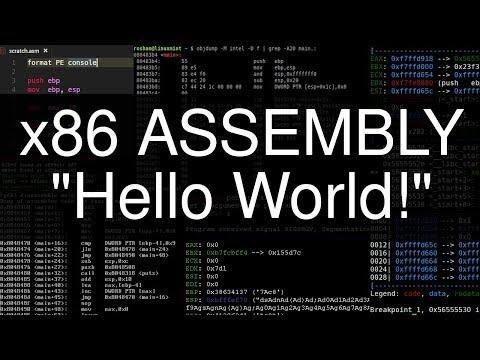 x86 Assembly: Hello World!