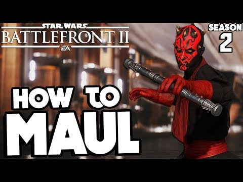 Star Wars Battlefront 2: How to Not Suck - Darth Maul UPDATED Hero Guide and Review