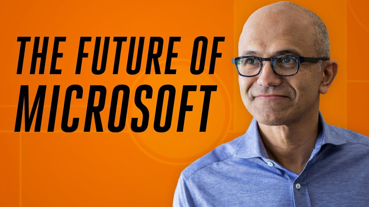 Exclusive: the future of Microsoft with Satya Nadella thumbnail