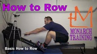 How to Row: Movement Catalog