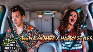 Selena Gomez & Harry Styles Carpool Karaoke