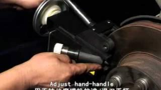 Video Máy vớt đĩa ô tô trực tiếp trên xe