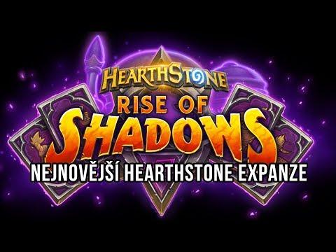 Rise of Shadows je nejnovější HS expanze!