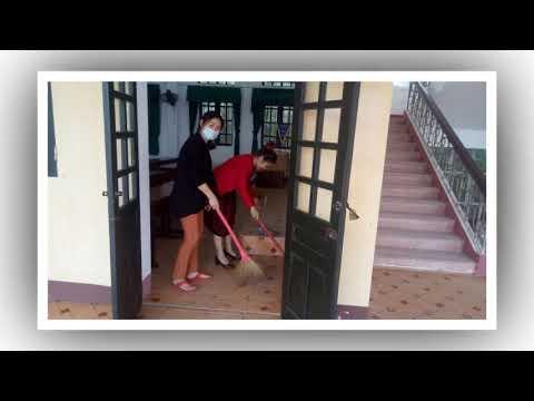 Trường THCS Lê Văn Thiêm tiến hành vệ sinh, chuẩn bị CSVC thiết yếu để đón học sinh trở lại trường học một cách an toàn nhất.