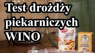 Test drożdży piekarskich, piekarniczych a ZACIER, NASTAW - fermentacja alkoholowa :) Cz. 1