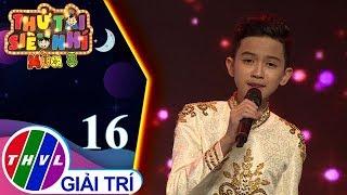 THVL | Thử Tài Siêu Nhí Mùa 3   Tập 16[10]: Chiều Xuân Xa Nhà   Quách Phú Thành
