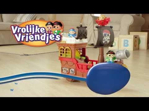 Vrolijke Vriendjes – Piratenschip