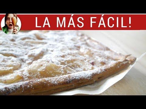 TARTA DE PERAS: la más fácil de todas!!! (Postres con frutas)