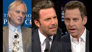 Watch as Sam Harris and Richard Dawkins DESTROYS Ben Affleck.