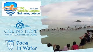 2020 World's Largest Swimming Lesson: Swimming Lesson 2